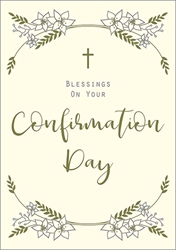 Blessing -  Confirmation Card