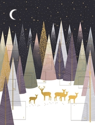 Deer in Forest - Advent Calendar Christmas