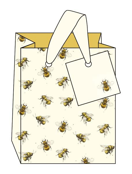 Bees Small Bags