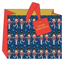 Nutcrackers Landscape Gift Bags Christmas
