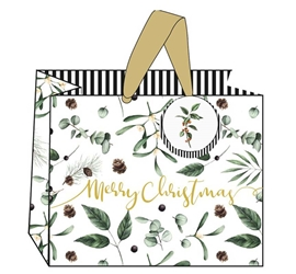 Berries Landscape Gift Bags Christmas