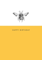 Bee - Birthday Card Birthday