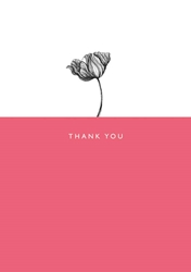 Flower - Thank You Card Thank You