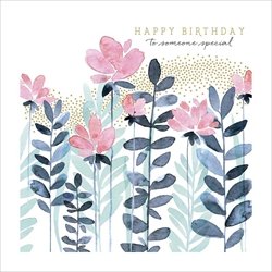 Flowers Special - Birthday Card