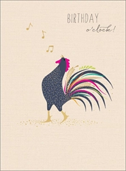 Rooster - Birthday Cards