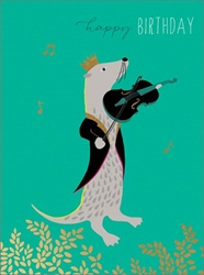 Otter Music - Birthday Cards