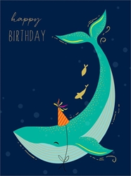 Whale - Birthday Cards