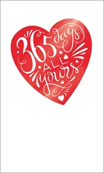 365 Days - Valentines Card