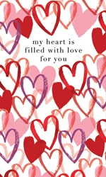 Heart Love - Valentines Card