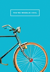 Wheelie - Congratulations Card