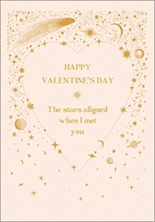 Stars Align - Valentines Day Card