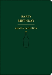 Aged to Perfection - Birthday Card