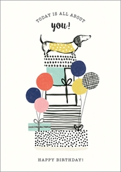 All About You - Birthday Card