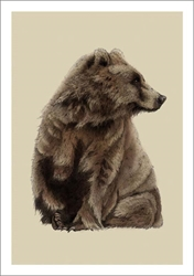 Brown Bear - Blank Card