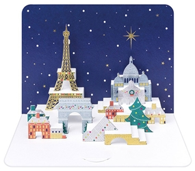 3D Paris - Christmas Boxed Cards Christmas
