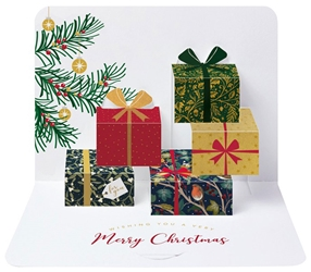 3D Presents - Christmas Boxed Cards Christmas