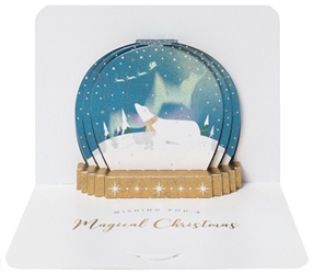 3D Snowglobe - Christmas Boxed Cards Christmas