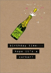 Corker - Birthday Card