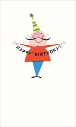 Party Hat - Birthday Card