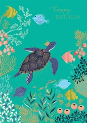 Turtle - Birthday Card