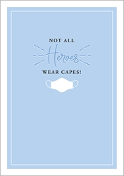 Heroes Capes - Friendship Card