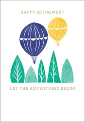 Adventures Begin - Congratulations Card
