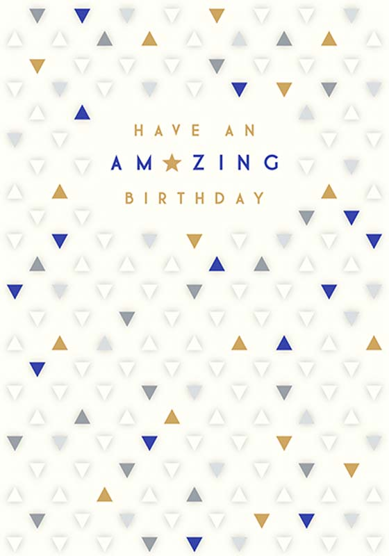 Amazing - Birthday Card