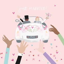 Car Love - Wedding Card