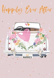Car - Wedding Card