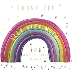Rainbow - Thank You Card Thank You