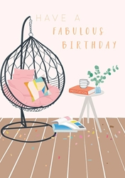 Chair - Birthday Card