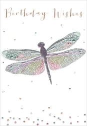 Dragonfly - Birthday Card