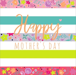 Stripes - Mothers Day Card