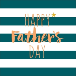Stripes - Fathers Day Card