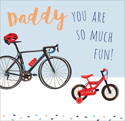 Bikes - Fathers Day Card