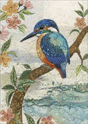 Kingfisher - Blank Card