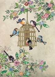 Bird Feeder - Blank Card