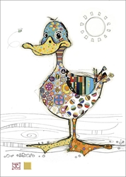 Dotty Duck - Blank Card