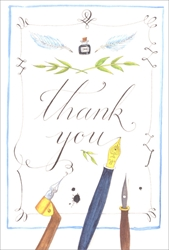 Fountain Pen - Thank You Card Thank You