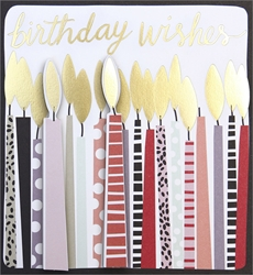 Candles - Birthday Cards