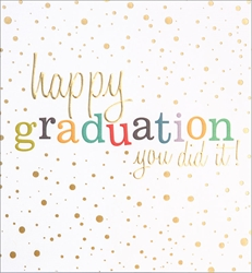 You Did It - Graduation Card
