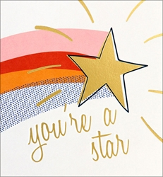 Youre a Star - Congratulations Card