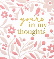 My Thoughts - Sympathy Card