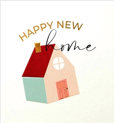 House - New Home Card