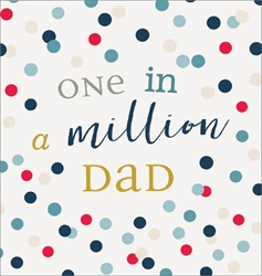 One in a Million - Fathers Day Card