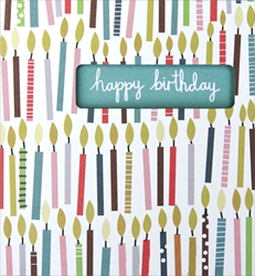 Candles - Birthday Card