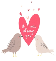 Birds - Love Card