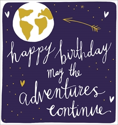 Adventures - Birthday Cards