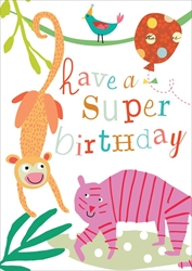 Cheetah - Birthday Card Birthday