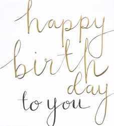 Script - Birthday Card